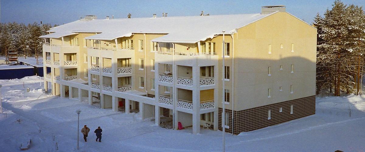 Lappeenranta talo1, ylhäältä