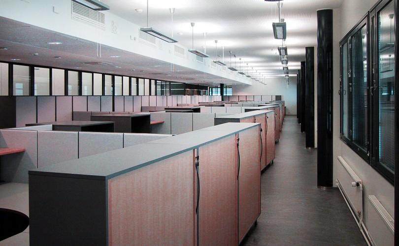 Metso Paper Palakonttori, kalustettu toimisto