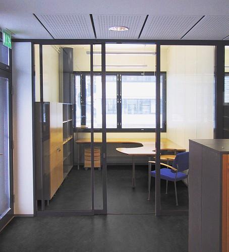 Metso Paper Palakonttori, toimistohuone